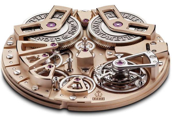 Arnold and Son Tourbillon Chronometer No.36 movement