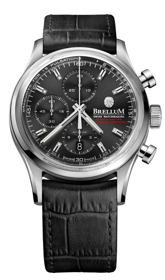 "Brellum Duobox Chronomètre ""Black Edition"""