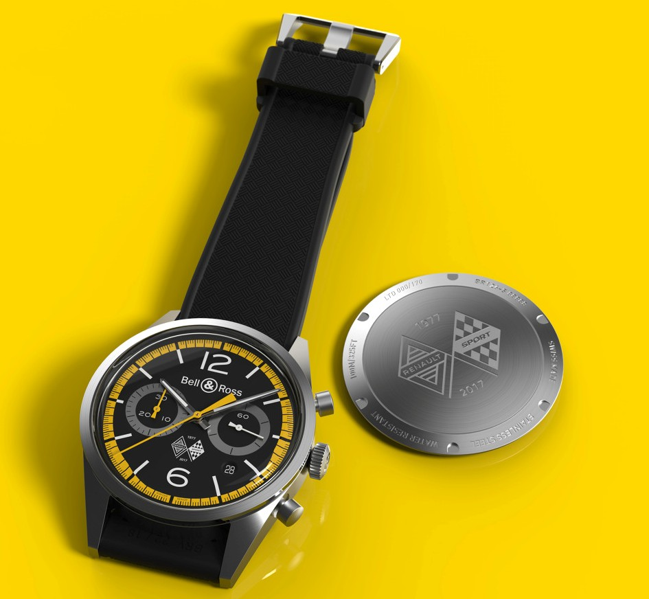 Bell & Ross BR 126 Renault Sport 40th Anniversary Limited