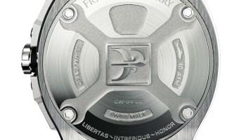 Franck Dubarry Crazy Wheel watch case back