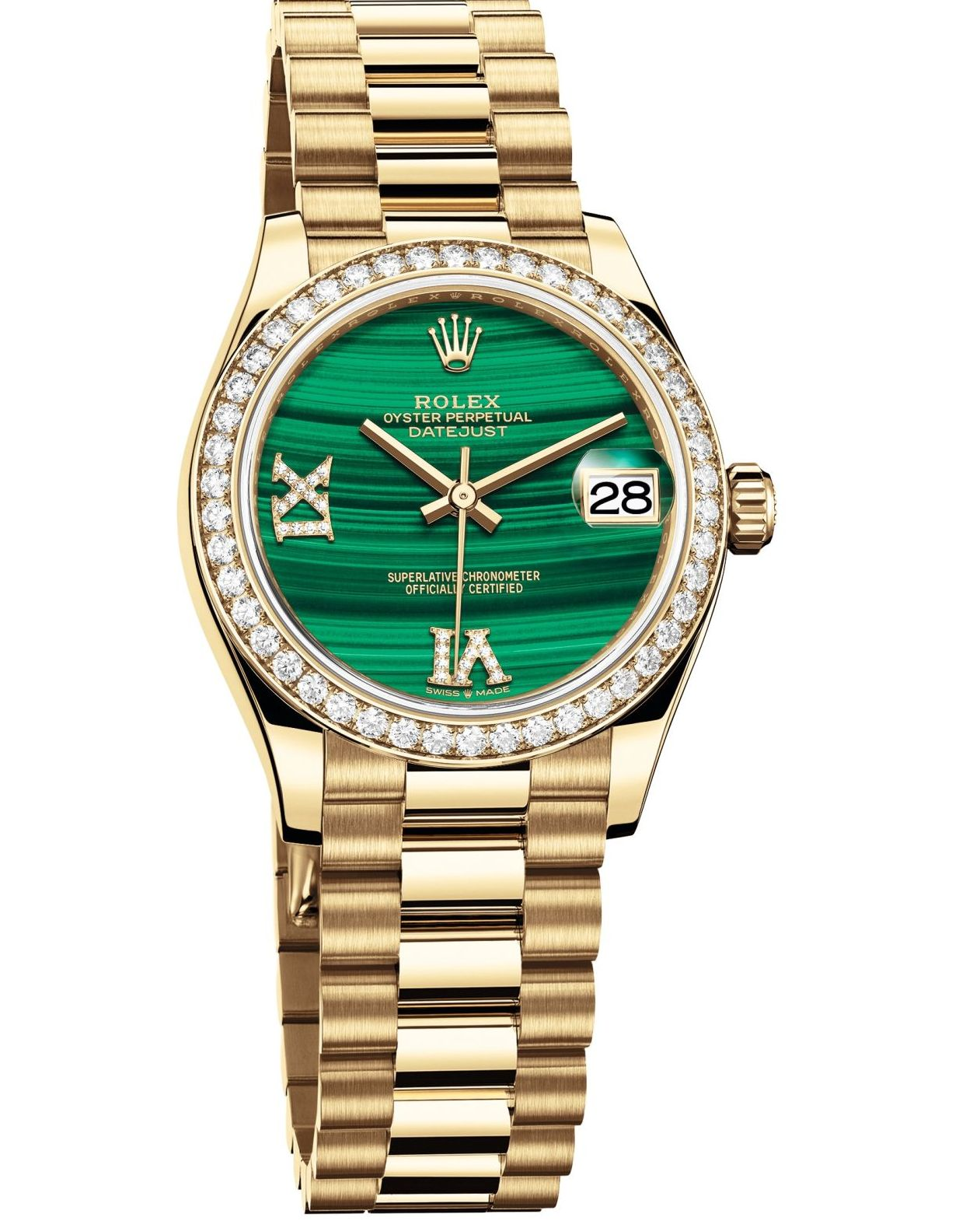 7854e322a15 Rolex Oyster Perpetual Datejust 31 – New Versions in White