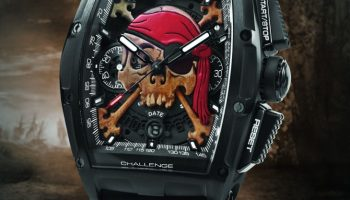 Cvstos Challenge Chrono II Inkvaders Pirate Limited Edition