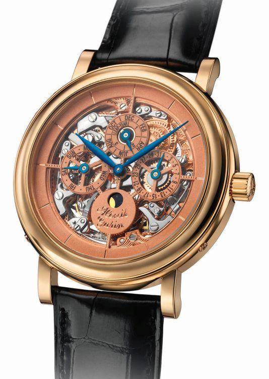 ALEXIS GARIN Perpetual calendar watch