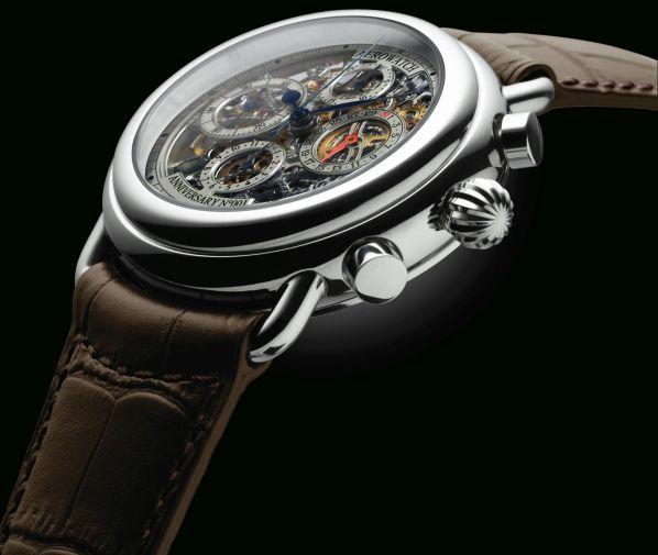 "Aerowatch Anniversary Skeleton Chronograph""1910-2010"" Numbered Edition - Ref. 61901 AA20 SQ"