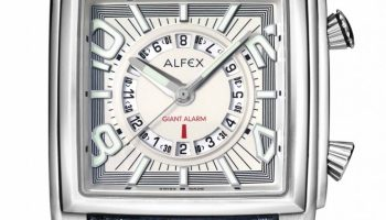 Alfex 60th Anniversary Collection -5587 Giant Alarm Pazzola model
