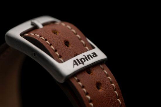 Alpina New Startimer Pilot Heritage Models (2018) Buckle