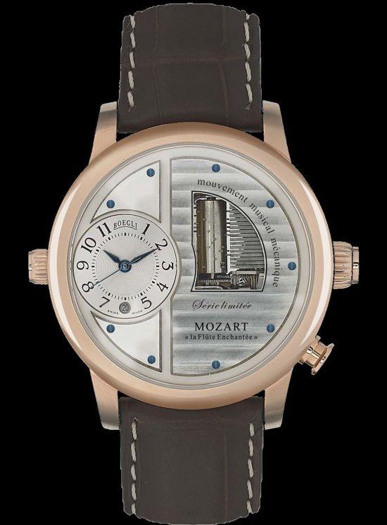 BOEGLI GRAND OPÉRA mechanical music watch