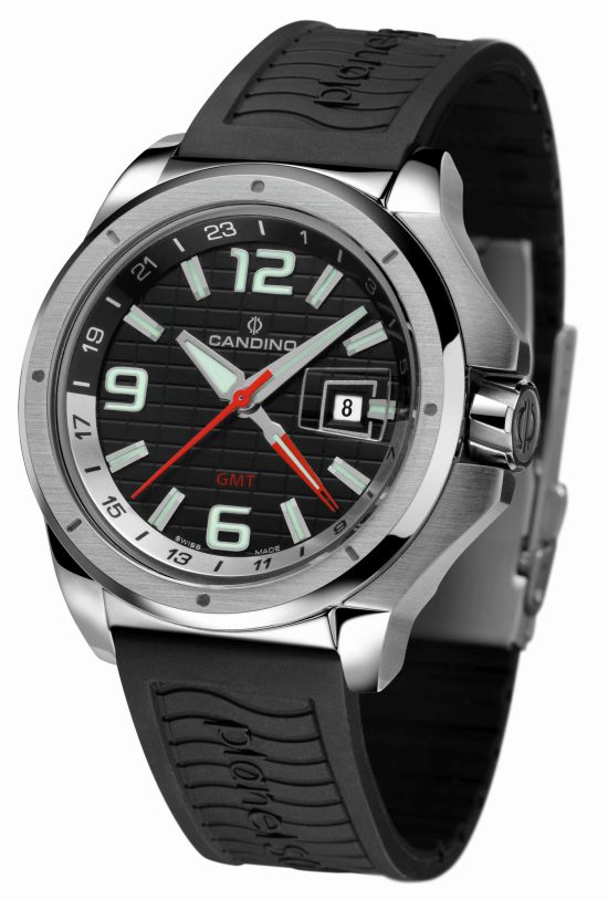 Candino Collection Sport PlanetSolar GMT watch C4451/3