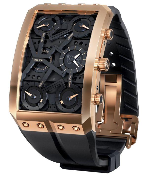 """Icelink """"Zermatt Gold VII"""" Limited Edition watch"""