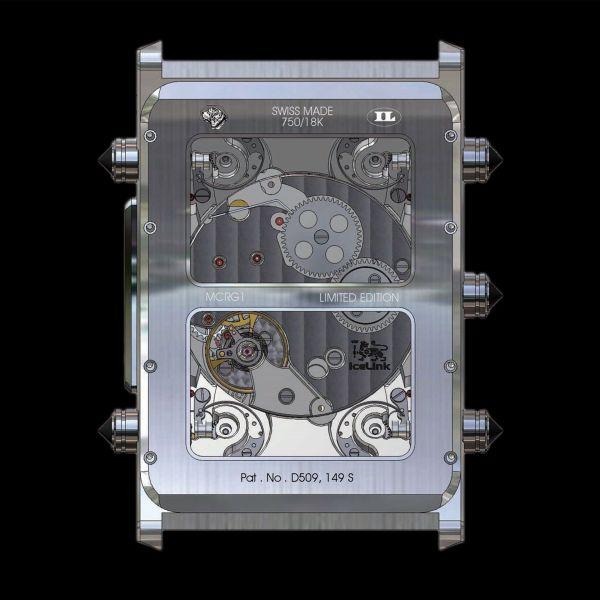Icelink 6Timezone Mechanical (6TZM) watch movement