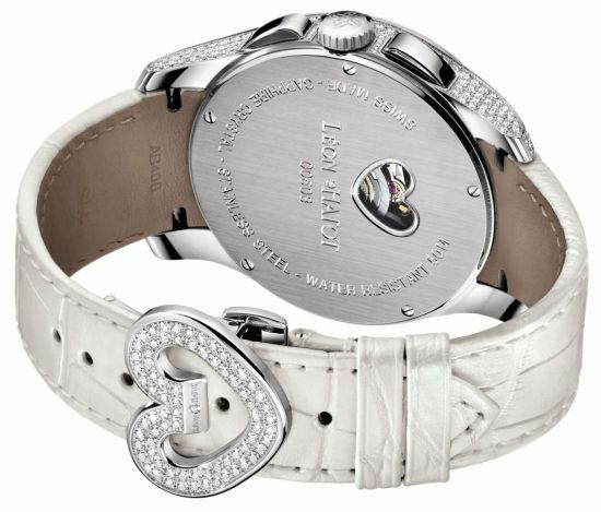 Léon Hatot Chronolove Diamond Set Watch