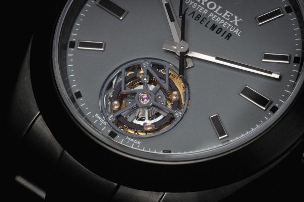 Rolex Tourbillon by Label Noir