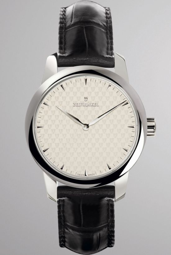 Zeitwinkel Mid-Size watch with out seconds