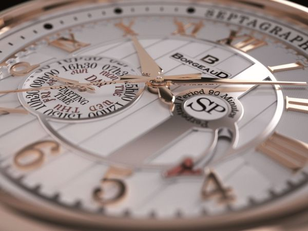 BORGEAUD SEPTAGRAPH PERPETUEL swiss watch