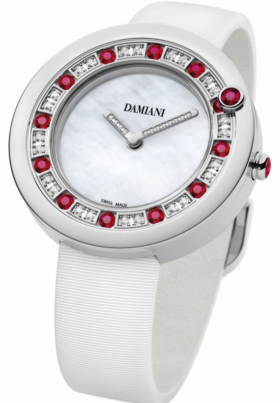 Damiani Belle Epoque watch with Rubies
