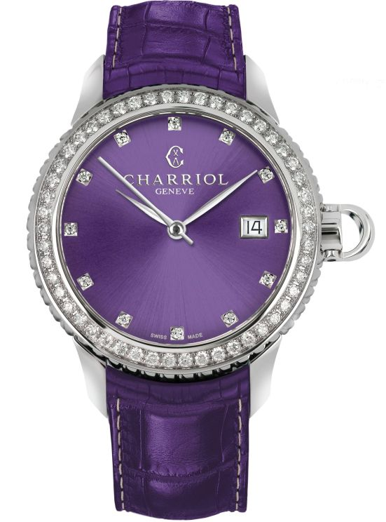 CHARRIOL COLVMBVS™ PRUNE watch