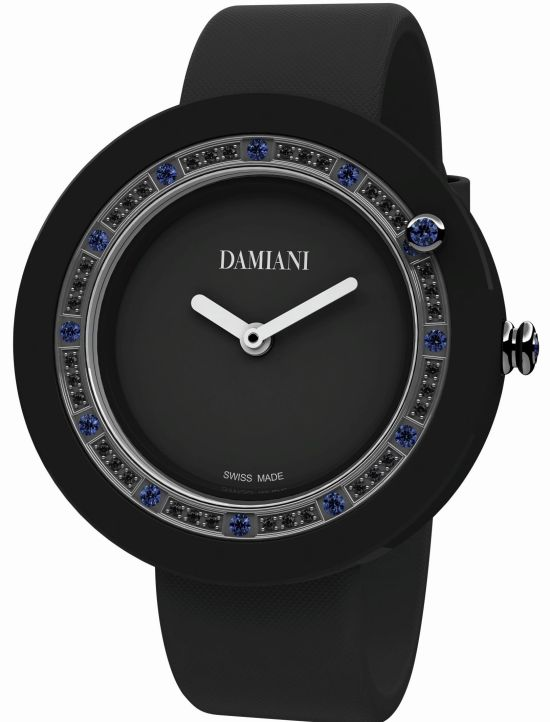 Damiani Belle Époque Black Ceramic and Sapphires watch