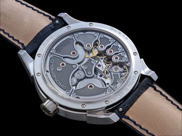 Grönefeld One Hertz Platinum Limited Edition watch
