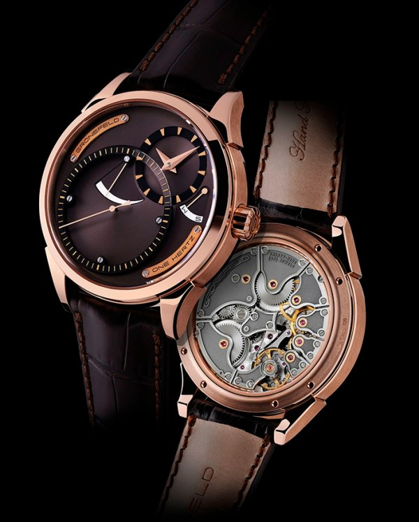 """Gronefeld """"One Hertz Dune"""" Red Gold Limited Edition watch"""