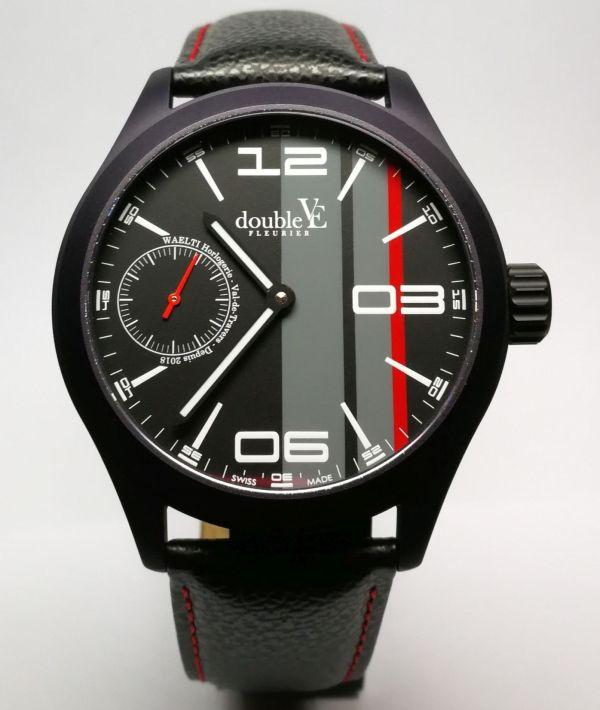 Double-Vé Fleurier swiss watch