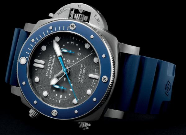 Panerai Submersible Chrono Guillaume Néry Edition (Reference: PAM 00982)