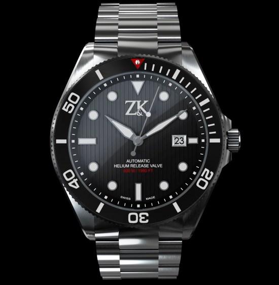 Zahnd & Kormann diving watch