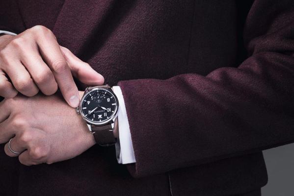 AEROWATCH Renaissance Grande Mécanique Aviateur (Ref. A 55981 AA01) watch
