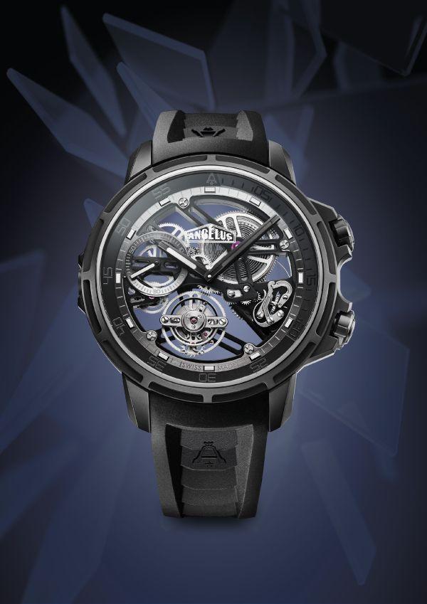 Angelus U50 Diver Tourbillon Black Edition
