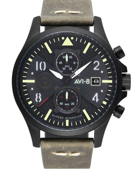 AVI-8 Hawker Hurricane AV-4068 Chronograph Bulman Edition black watch