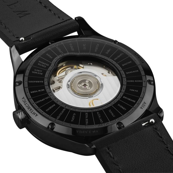CuleM GMT Dual Time Automatic Watch movement