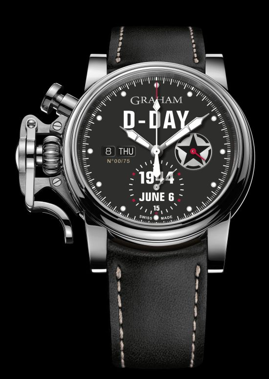 GRAHAM Chronofighter Vintage D-Day watch