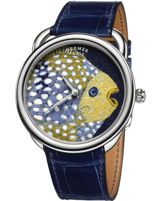 Hermès Arceau Grands Fonds Limited Edition watch