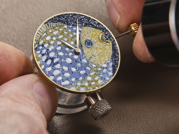 Making of dial - Hermès Arceau Grands Fonds Limited Edition