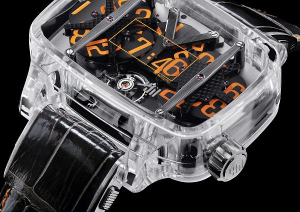 4N Watches SAPPHIRE PLANET Model