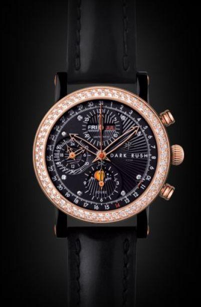 DARK RUSH GTRB (Grand Timepiece Rose Brilliant) Chronograph Limited Edition