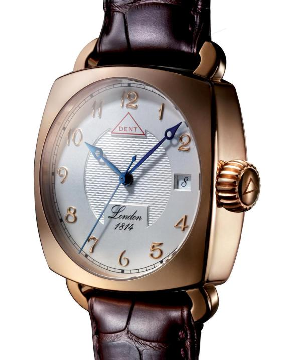 DENT Denison Limited Edition watch in rose gold