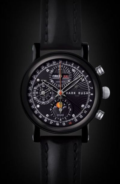 Dark Rush GTS (Grand Timepiece Stainless Steel) Chronograph Limited Edition