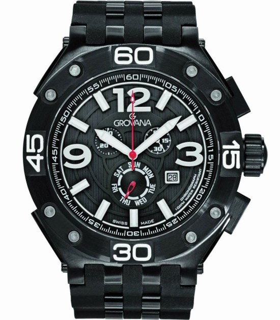 Grovana Master Commander chronograph watch