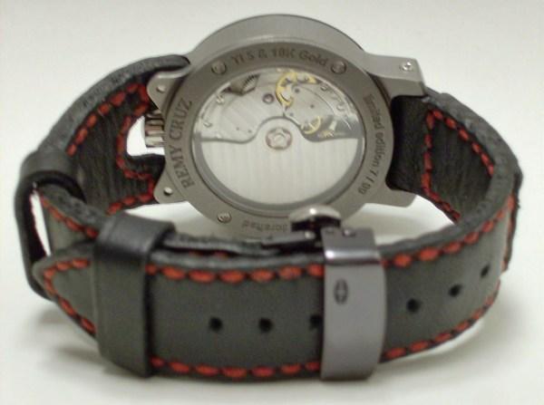 REMY CRUZ Rebellion Sauvage Handcrafted Titanium Timepiece