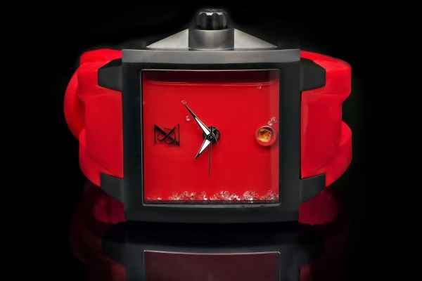 Zanis & Co. Nuvati Limited Edition watch red dial
