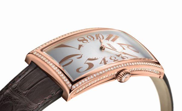 Tissot Classic Prince watch rose gold, diamond set case