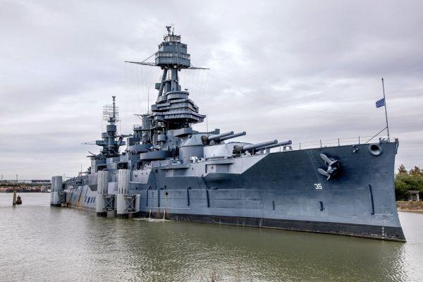 The USS Texas