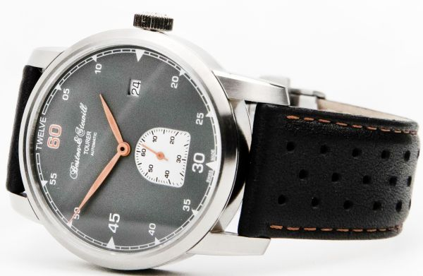 Boston & Stewill Tourer watch with Grey Dial