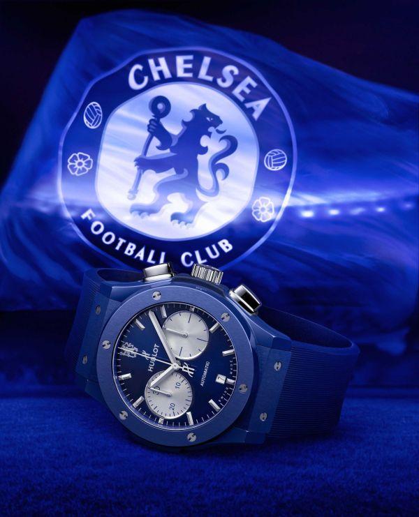 Hublot Classic Fusion Chronograph Chelsea FC Limited Edition
