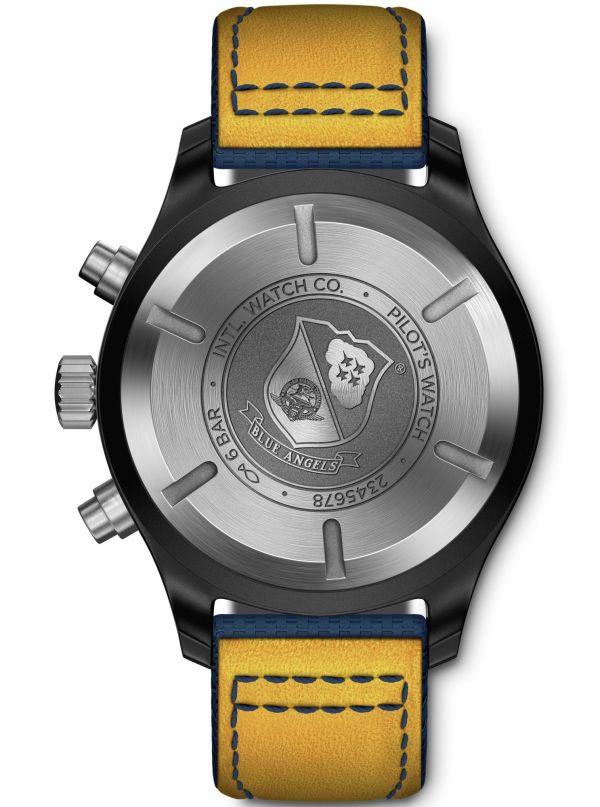 IWC Schaffhausen Pilot's Watch Chronograph Edition Blue Angels®