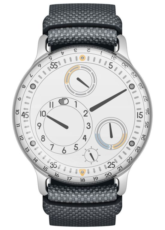 Ressence Type 3W - The First Oil-Filled Mechanical Watch with a White Dial