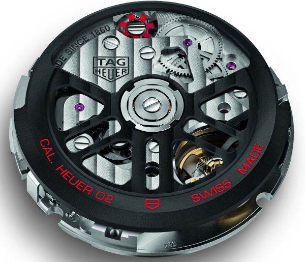 The Calibre Heuer 02 - Tag Heuer's In-House Chronograph Movement 1