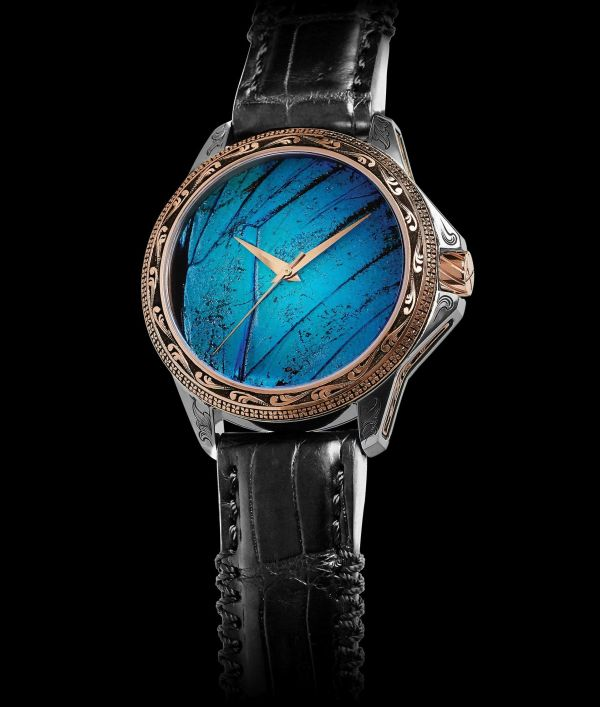 ArtyA Son of Earth Precious Butterfly Engraved for Only Watch 2019