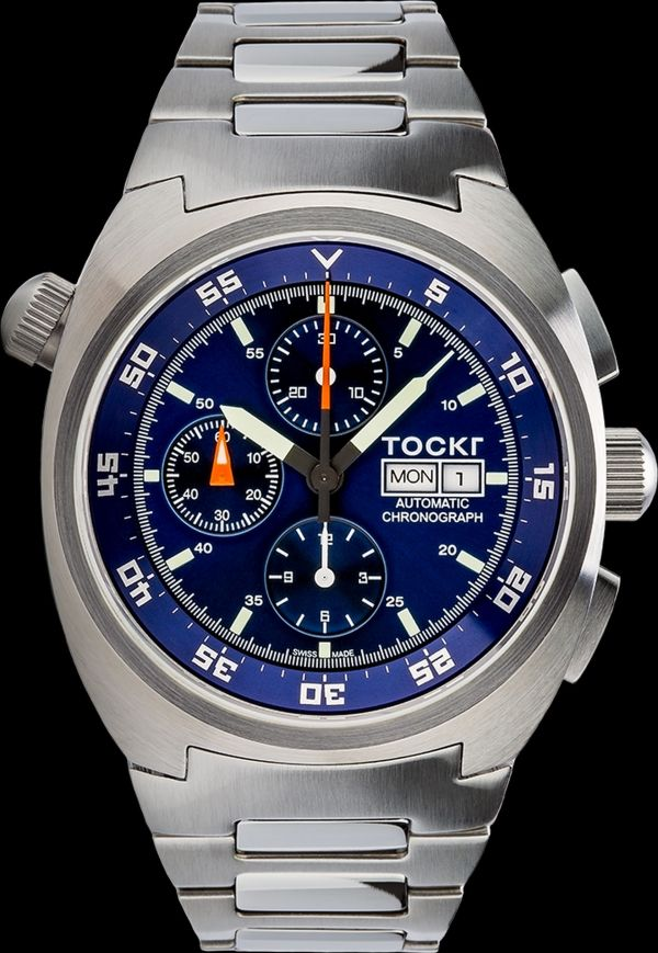 Tockr Air Defender Chronograph with Blue Dial