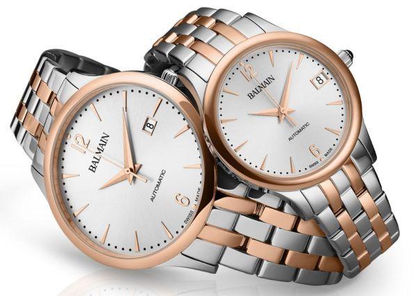 Balmain Classic R Automatic Pair watches